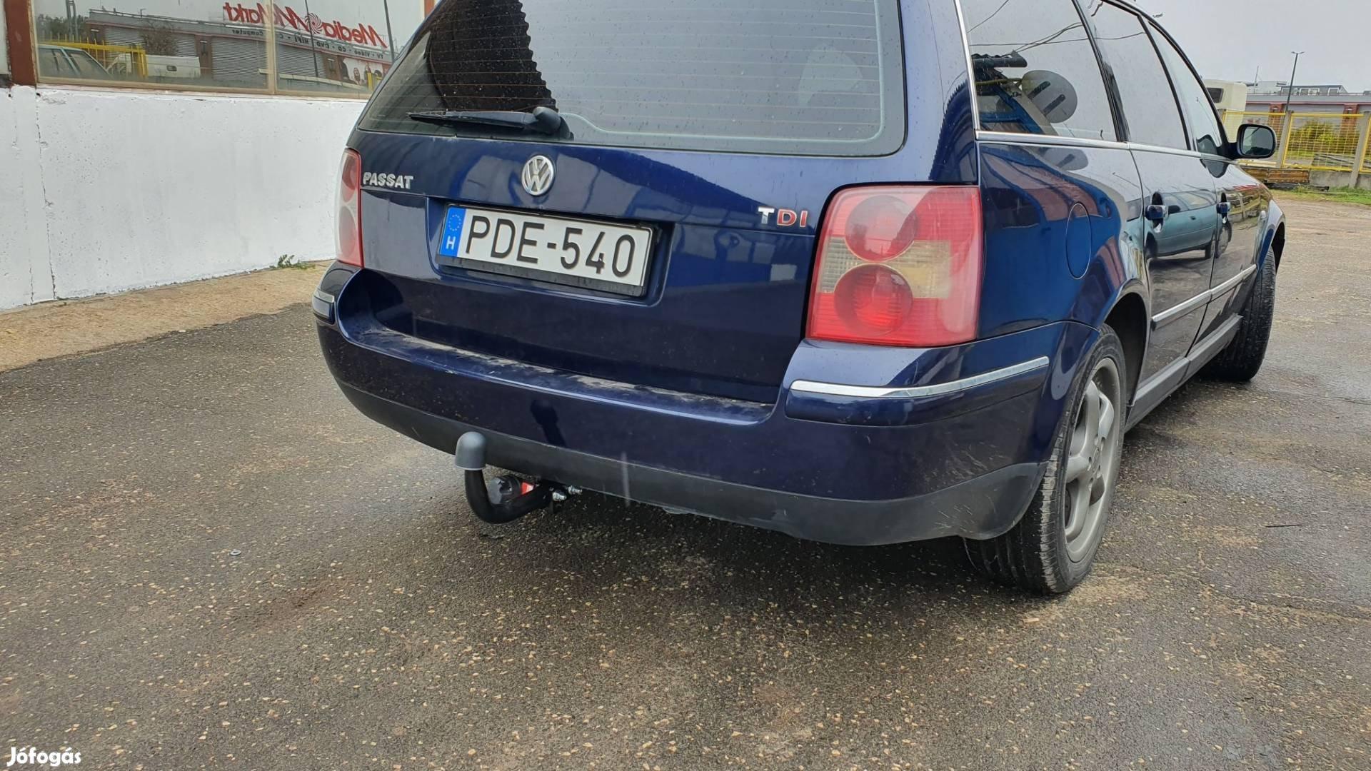 Volkswagen pasat vonóhorog