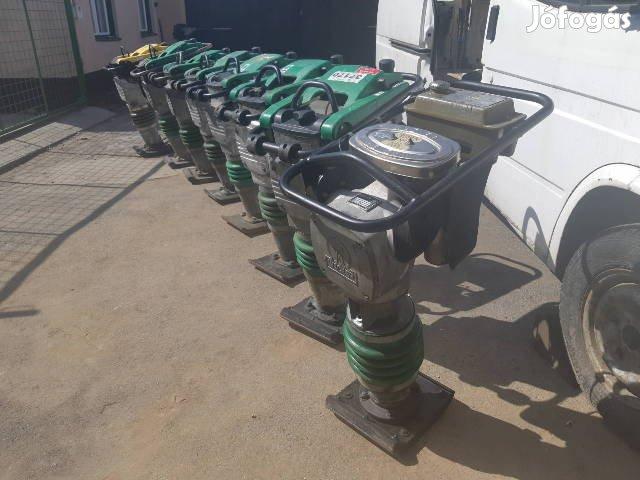 Wacker döngölő döngölőbéka gép béka dongolobeka vibrátor Bs 60-y ipari