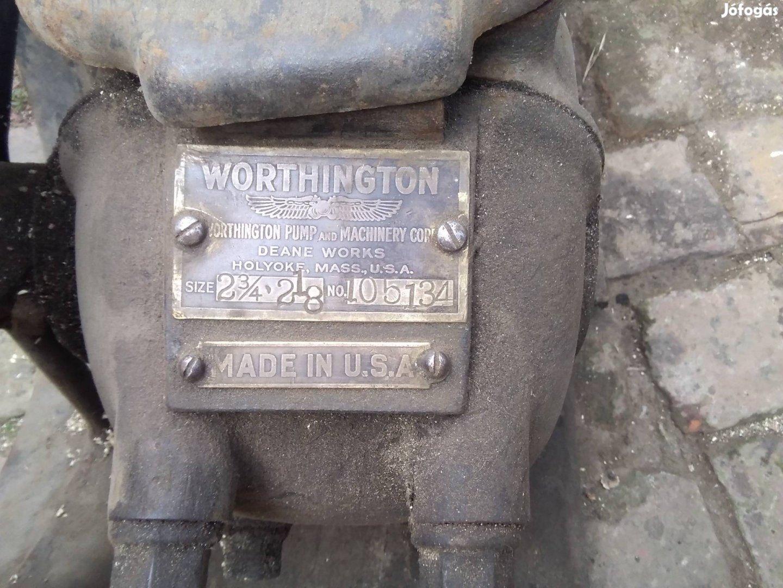 Worthington dugattyús szivattyú eladó