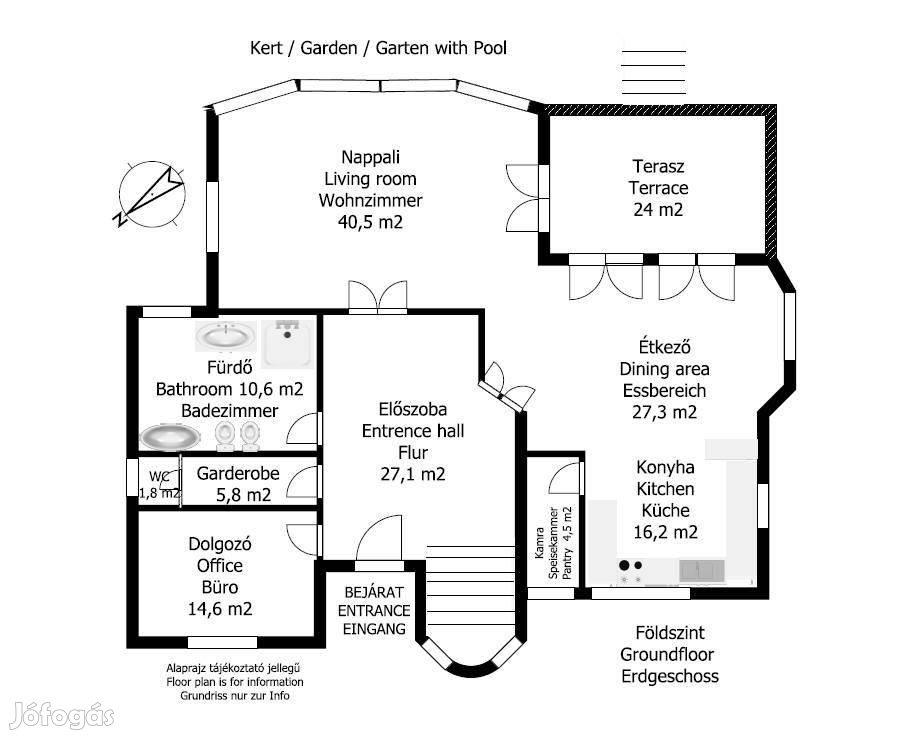 XVII.ker. Pesti úti lakóparkban igényes családi ház