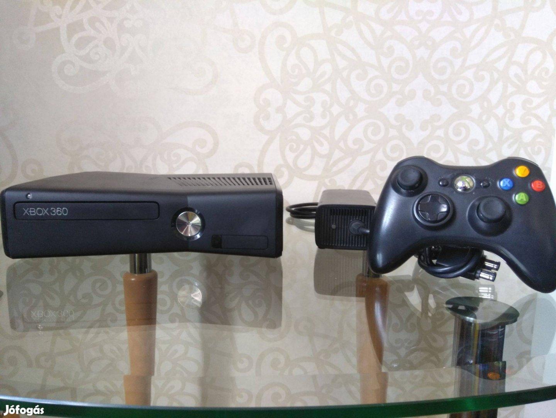Xbox 360 S slim komplett Gyerek/családi pakk Rgh! 111 játék! Kinect
