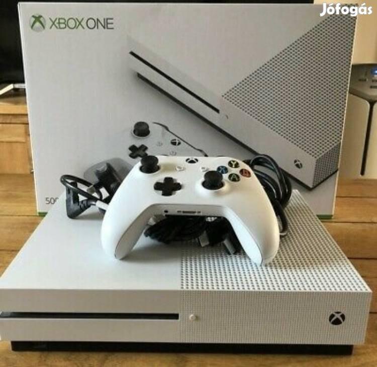 Xbox One S / Slim 500 GB-os Teljesen komplett Kifogástalan! Legjobb ár