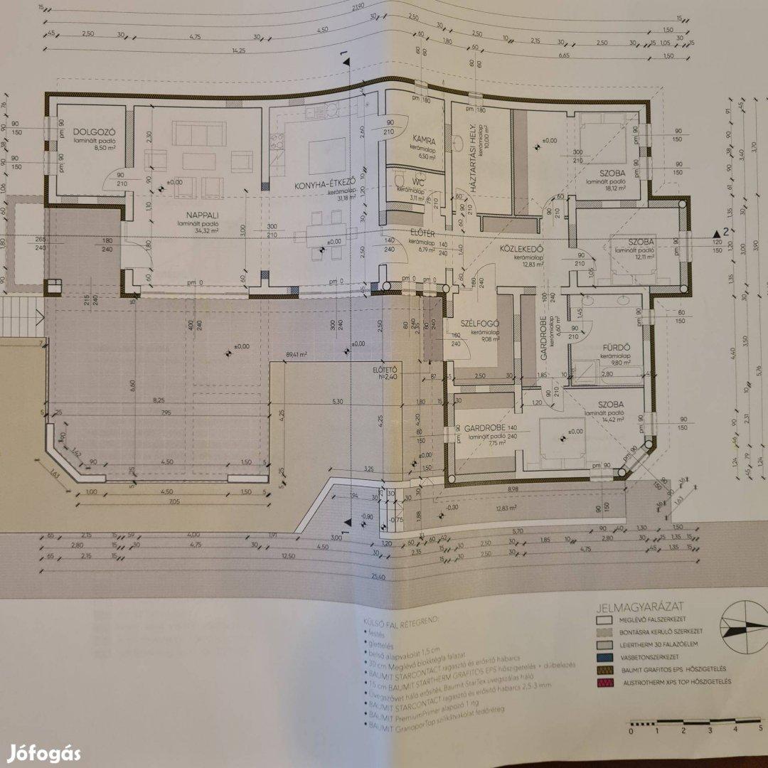 Zalakaroson új építésűnek minősülő 191 nm-es családi ház eladó!