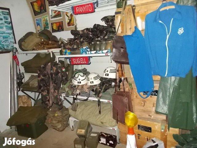 087af243704e Honvédségi katonai felszerelések,kiegészítők - Vác, Pest