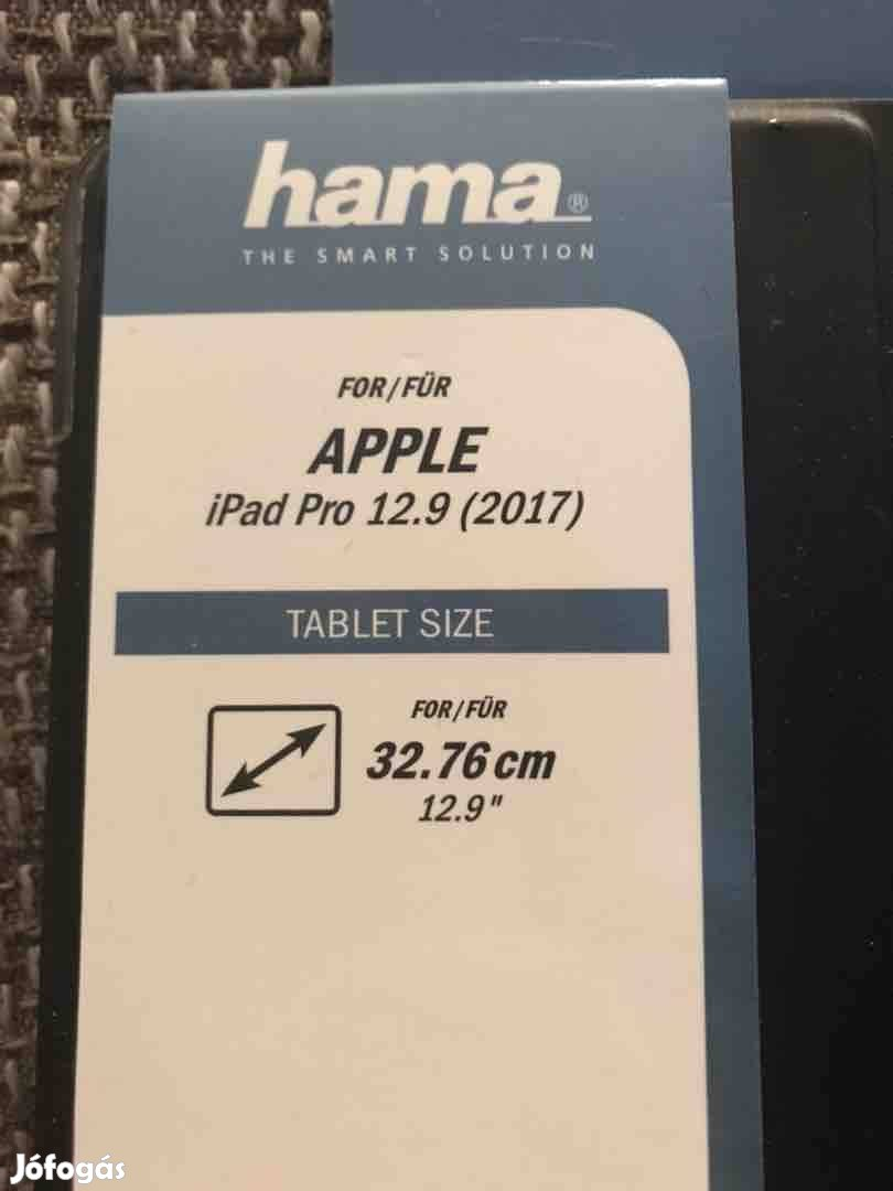 ipad Pro 12.9 2017 fekete tablet tok Hama