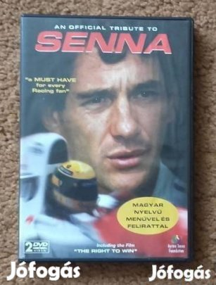 An official tribute to Senna magyar nyelvű Forma 1 F1 DVD (2 lemezes), 1. Kép