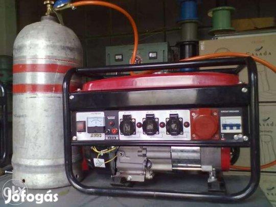 Áramfejlesztõ, generátor javitas - Bonyhád - Javitas:35000eFt(tekercseles ara) Gazbeszereles:28-32eFtBenzines elado:70eFt(áfás) Gázos elado:110eFt(áfás)Benzin-gázos 135eFt(áfás)Teljesen felujitott.Jol mukodik benzinnel és olcson gázzal.Vagy csak gázzal. A Jófogás nem vállal  - Bonyhád