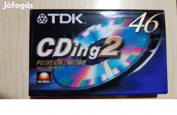 Eladó egy TDK Chrome chrom króm deck magnó kazetta - apro.tk - minden ami apróhirdetés