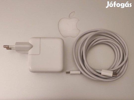 Eredeti, újszerű - Appple USB C 30W töltő - garancia - apro.tk - minden ami apróhirdetés