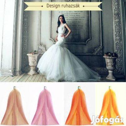 Esküvői ruhazsák menyasszonyi ruhához 3d9662acb7