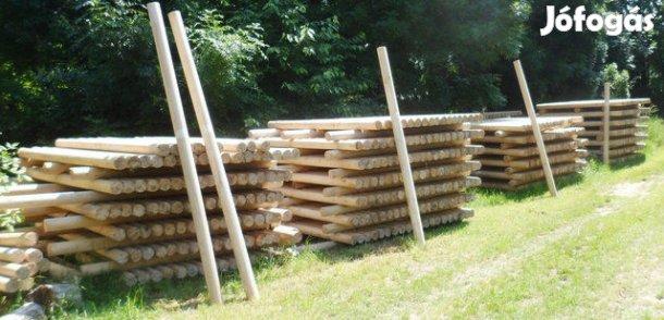 Fa oszlopok .Több méretben, 1. Kép