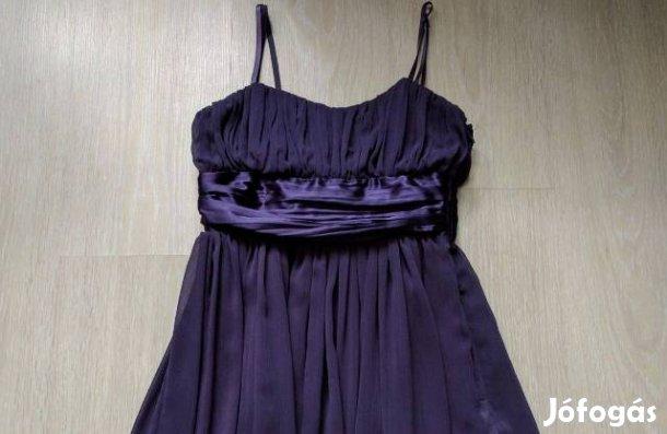 fdb2da5558 Gyönyörűséges New Look padlizsán lila koktél ruha 32/34, Xxs/XS