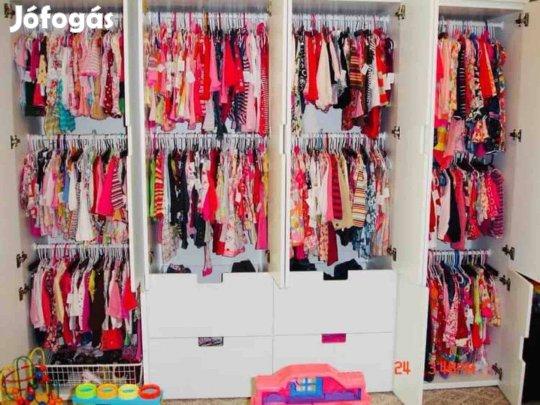 1639fe836 Kislány ruhatar elado extra cream gyerekruha használt ruha