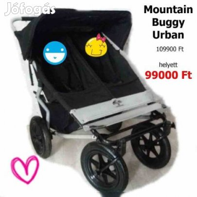 Kép Mountain buggy urban iker testv r babakocsi 2d42d52383