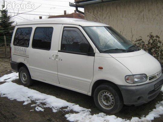 Nissan Vanette Cargo 2.3d bontott alkatrészei olcsón eladók, 1. Kép