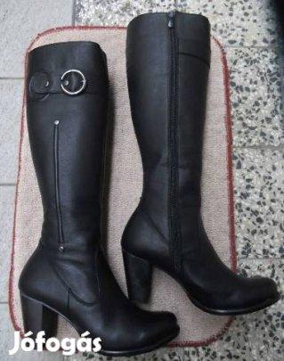 0e9e884217 Női hosszúszárú csizma, fekete, új, 39-es - III. kerület, Budapest