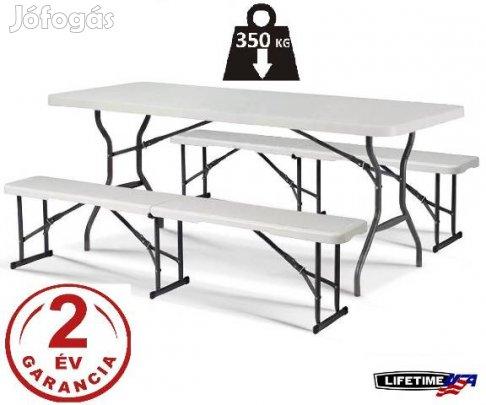 Összecsukható kerti asztal Szétnyitható kemping asztal d81a59c64a