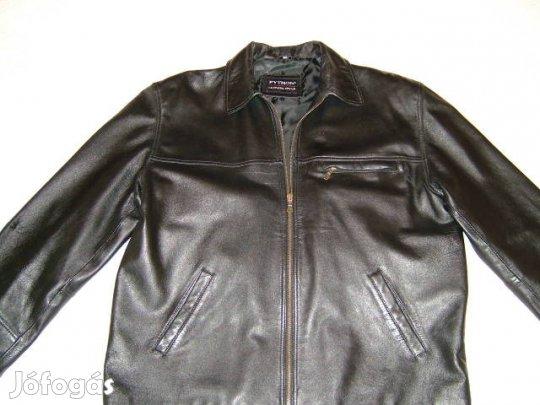 cd72258c4a Phyton fekete juh nappa férfi bőrkabát bőrdzseki 52 XL. 25 000 Ft