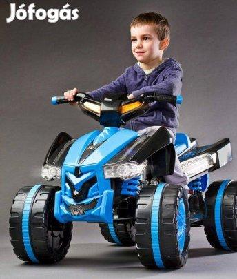 Raptor elektromos Quad 12 Voltos 2 motoros hajtással , Ledes világítás