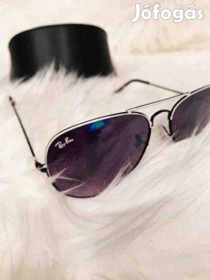 Ray Ban Aviator napszemüveg Fekete ajándék Giorgio Armani tok Unisex ... b504551d36