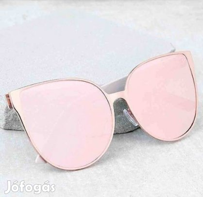 Rose gold tükrös napszemüveg eladó új cica fazon 354f28de67