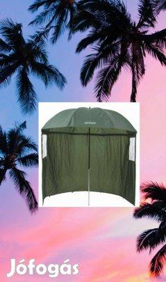 Sátras napernyő zöld oldalfalas horgász bojlis túra kemping nap ernyö - apro.tk - minden ami apróhirdetés