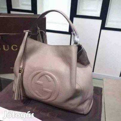 b342a46785 Shopper méretű eredeti bőr Gucci táska