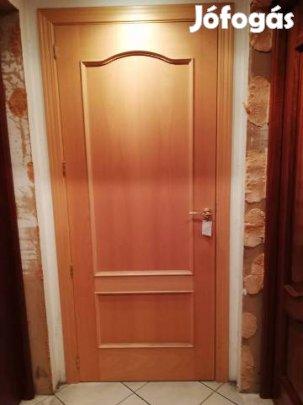 Spanyol furnéros gőzölt bükk tömör ajtó féláron eladó, 1. Kép