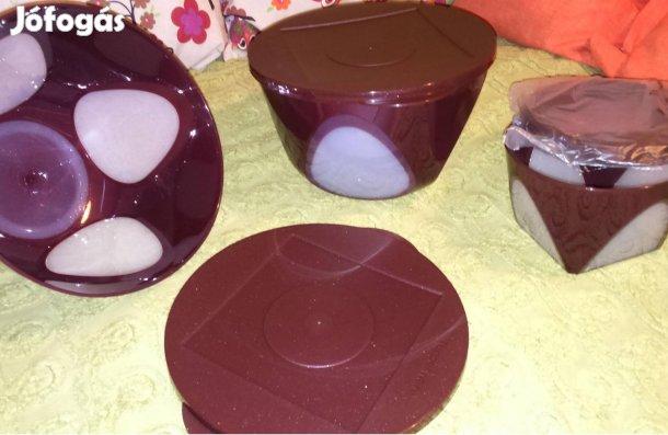 509ebffc8e Kép Tupperware kerti parti tál, lila csillámos gyönyörű!, 1. Kép
